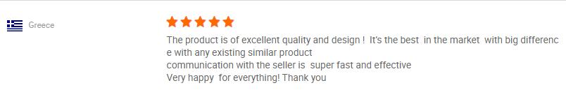 Client's review