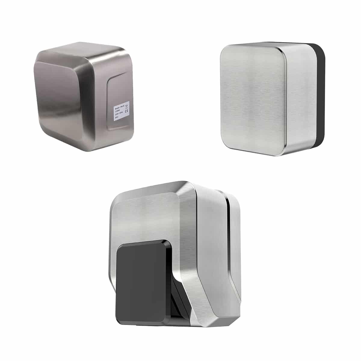 PW-A,B,C, single side jet Hand dryer